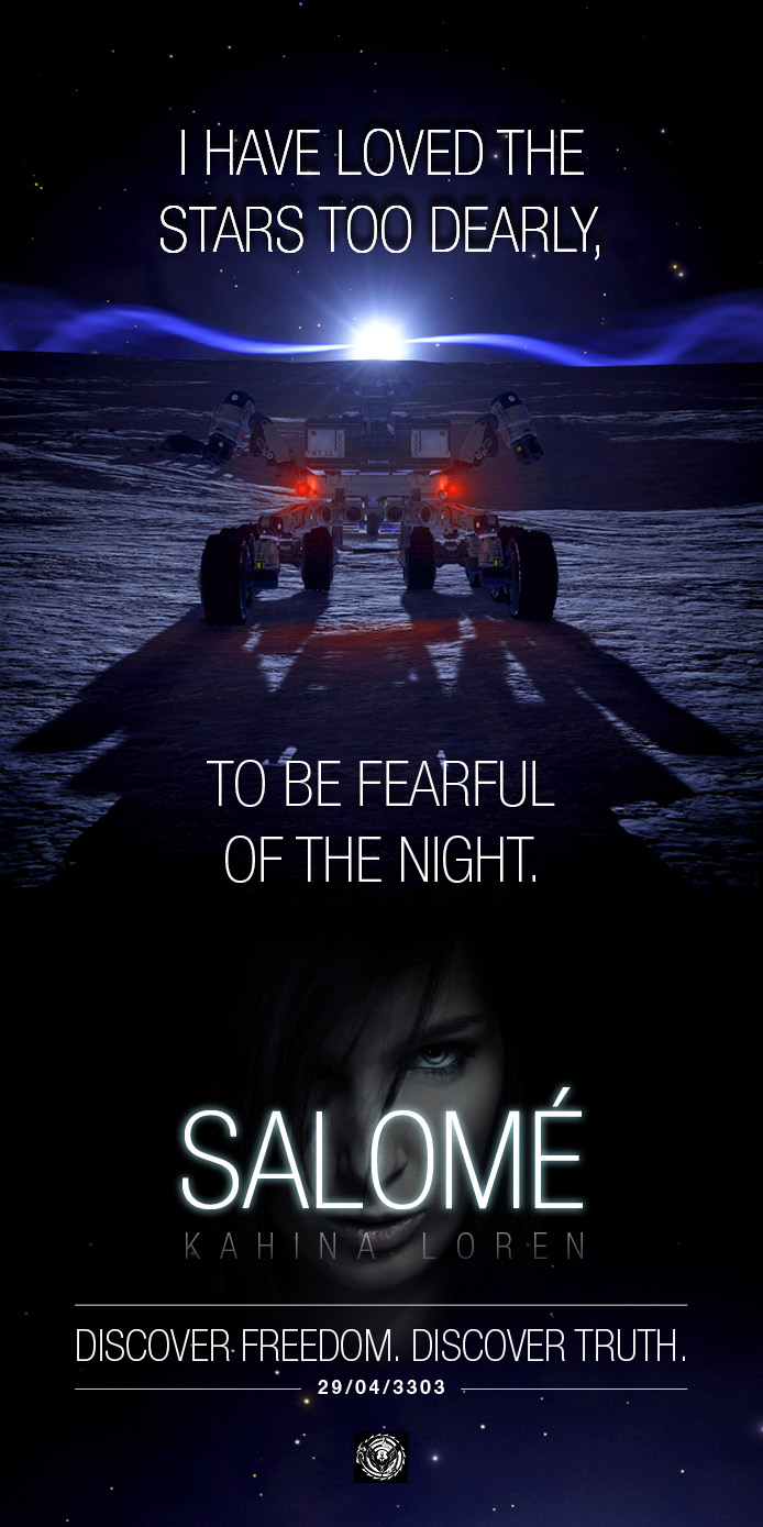 Lots of Salomé images began circulating before the event as part of the call to action.