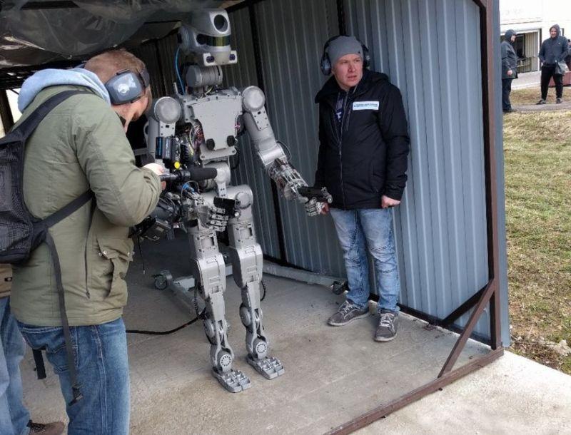 Meet Fyodor, Russia's new gun-toting robot.