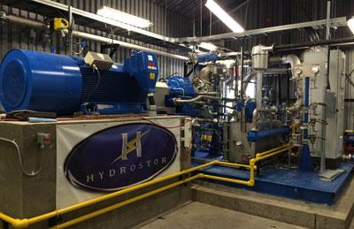 Hydrostor's Toronto Island system.