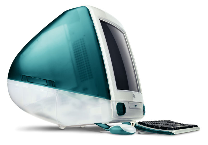 The original iMac was hardly a workhorse. It was designed to be a relatively affordable, visually pleasing consumer desktop, and that's what it was.