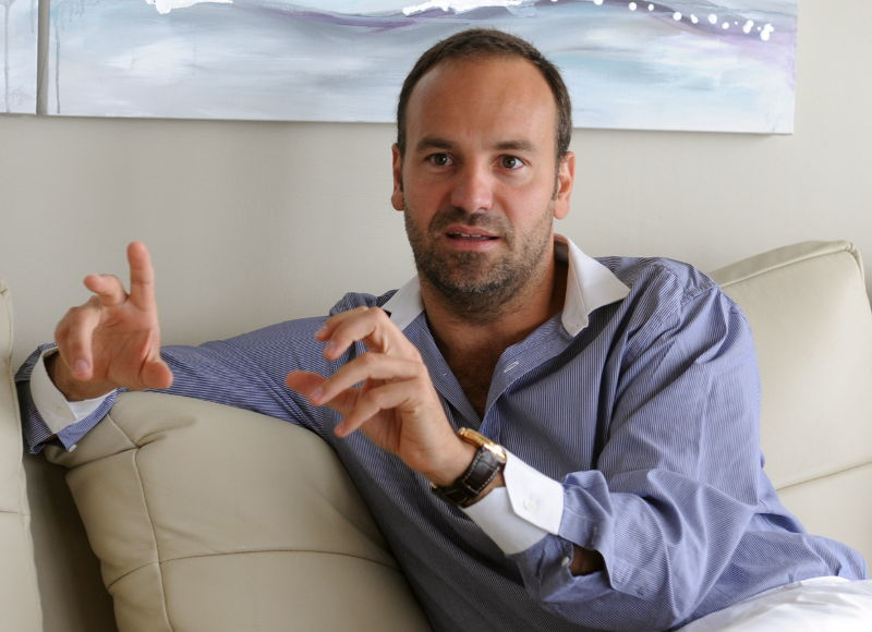 Ubuntu creator Mark Shuttleworth during an interview in 2011.