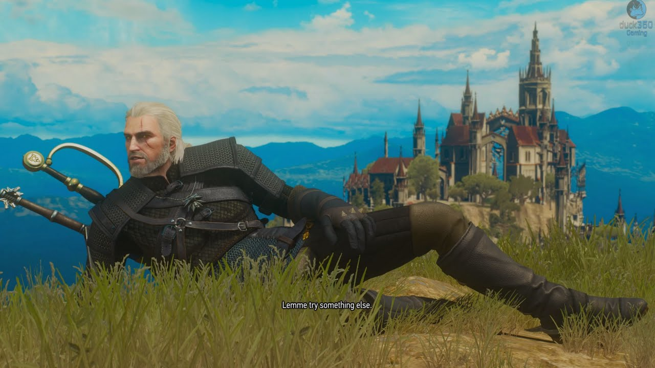 "I really wanted to put the Oprah ""Everybody gets bees"" gif here, but I just couldn't find a version that would fit properly. So, here's a picture of a Witcher—literally ""one who witches."""