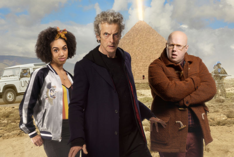 Doctor Who: The Pyramid at the End of the World review