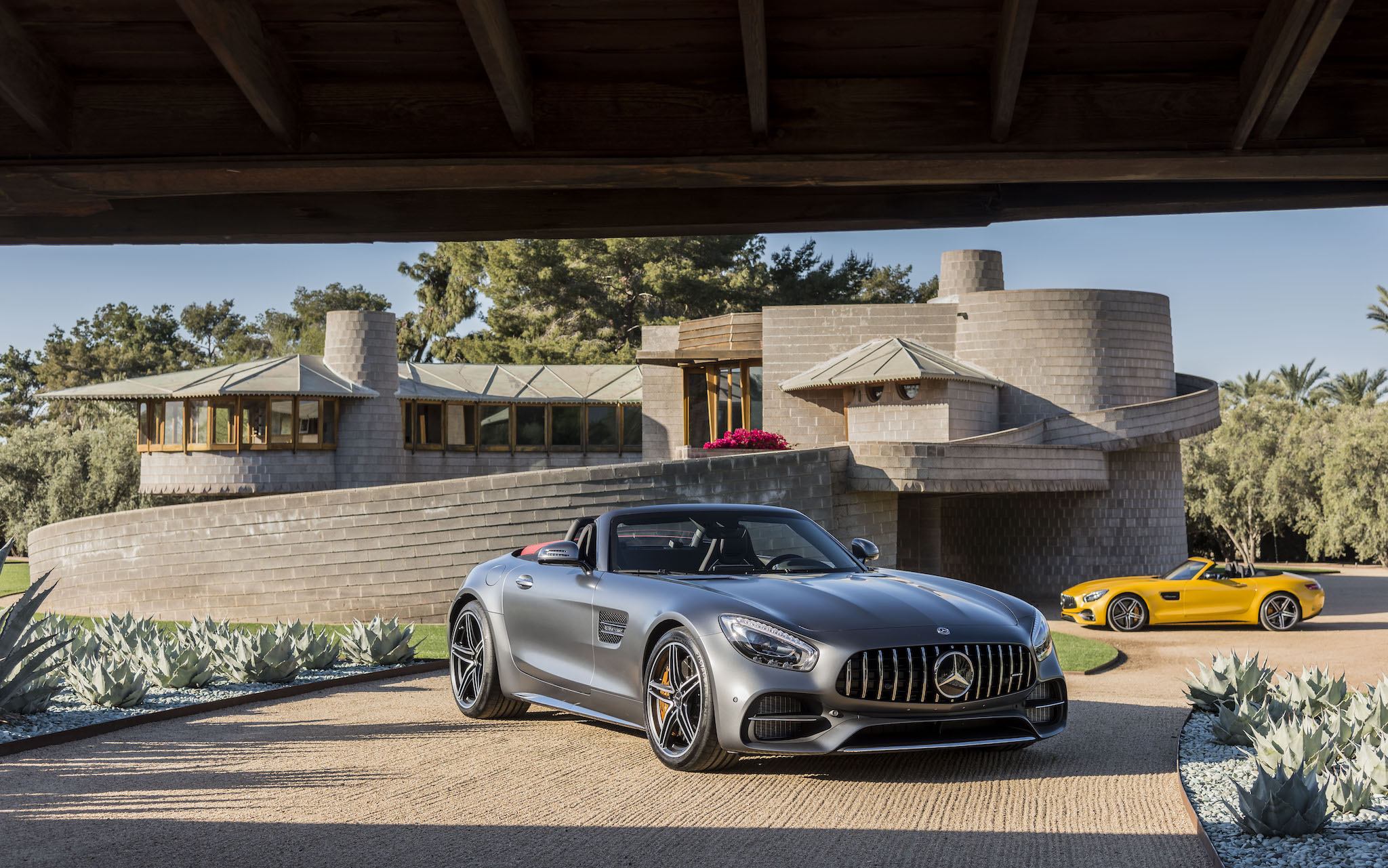 New 2018 Mercedes Amg Gt C Roadster German Brute Or Exotic Alternative Ars Technica