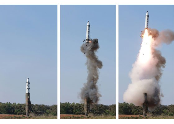 The launch of a Pukguksong-2 solid-fuel missile from a mobile launcher on May 21 may signal a new level of worries for the US, Japan, and South Korea.