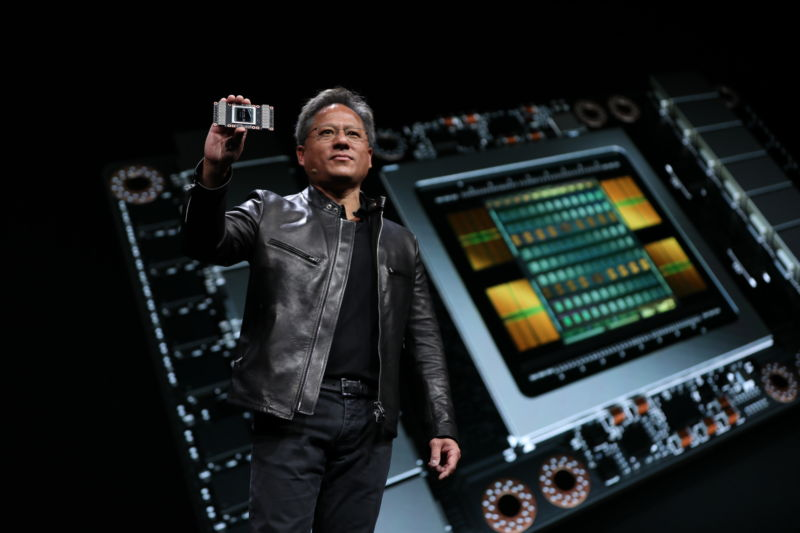 Nvidia Tesla V100: First Volta GPU is one of the largest silicon chips ever