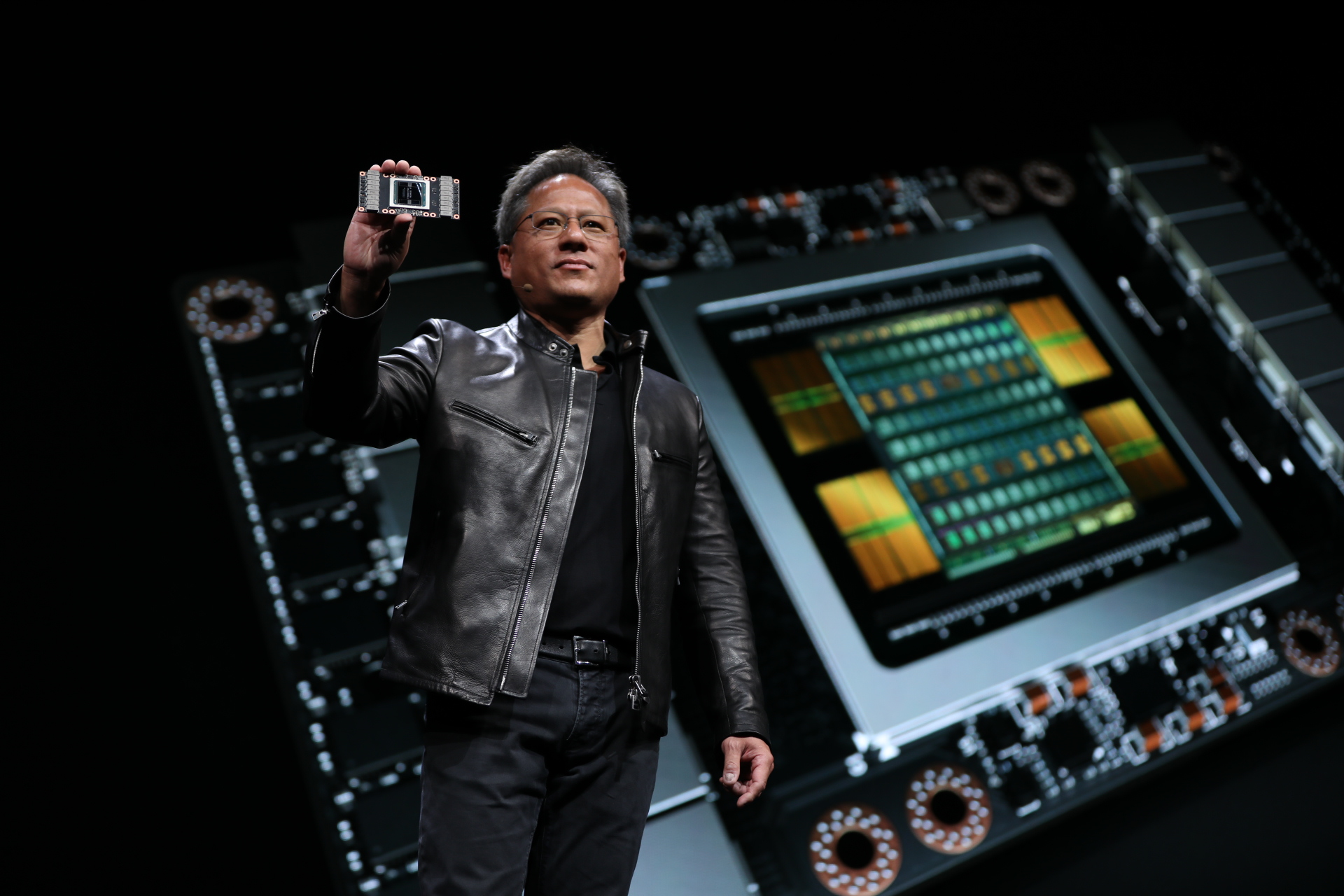 Nvidia tesla v100 first volta gpu is one of the largest silicon nvidia stopboris Image collections