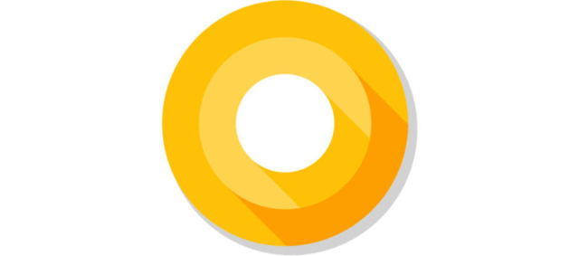 The Android O logo.