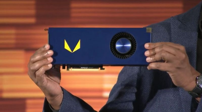 AMD Radeon RX Vega will appear at Computex—but launch comes later