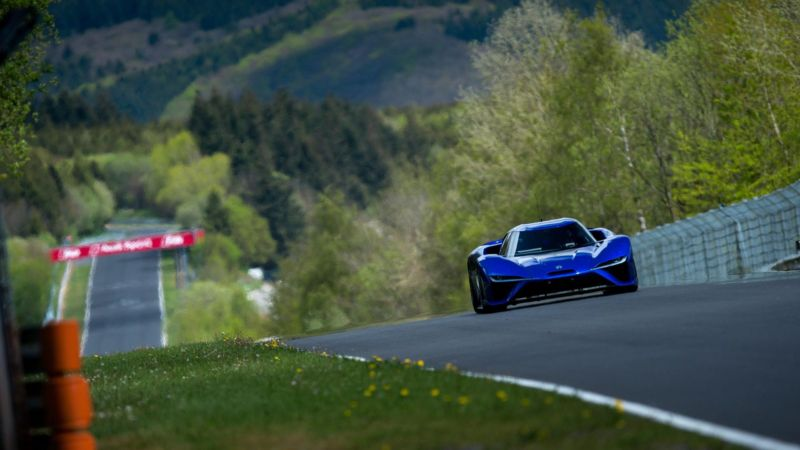 NextEV does it again, shatters the Nürburgring lap record in an electric car