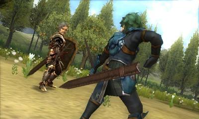 Attacks are rendered in 3D, just like in <em>Fire Emblem: Awakening</em> and <em>Fates</em>.