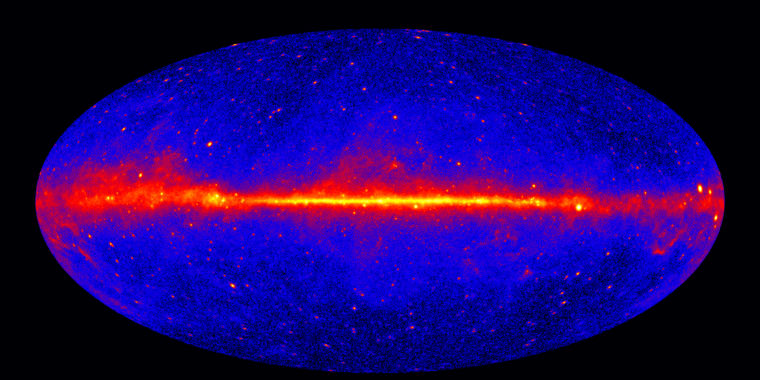 Explaining why our galaxy produces so much antimatter