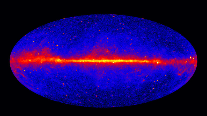 Our galaxy produces 9 trillion kilograms of antimatter a second—how?