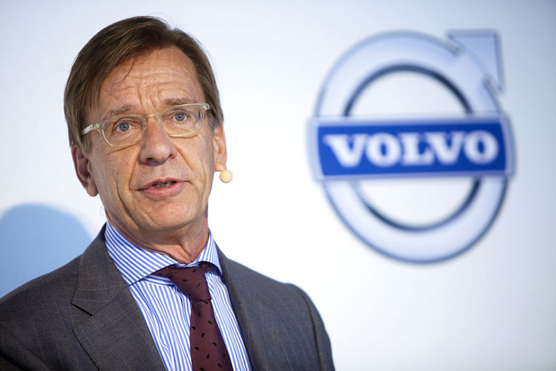 Hakan Samuelsson, chief executive officer of Volvo Cars.