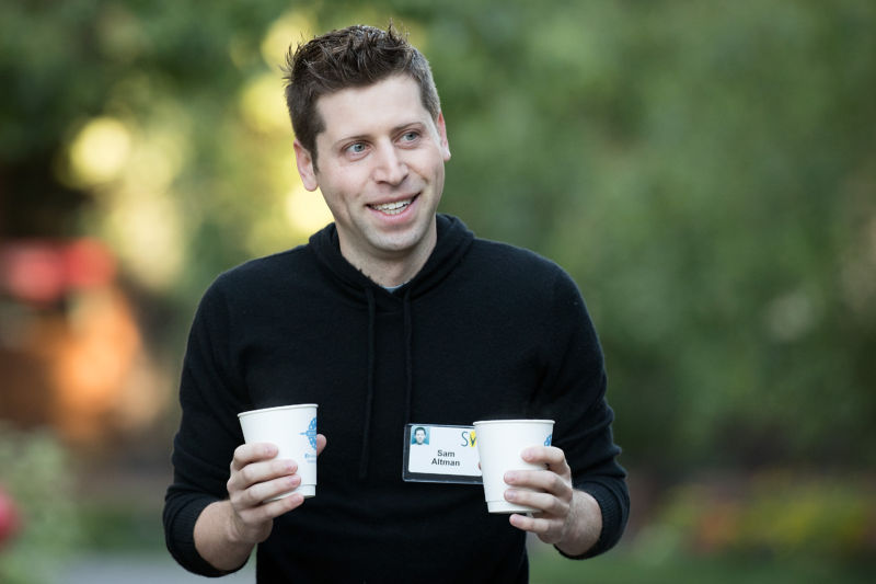 Sam Altman, president of Y Combinator and co-chairman of OpenAI, seen here in July 2016.