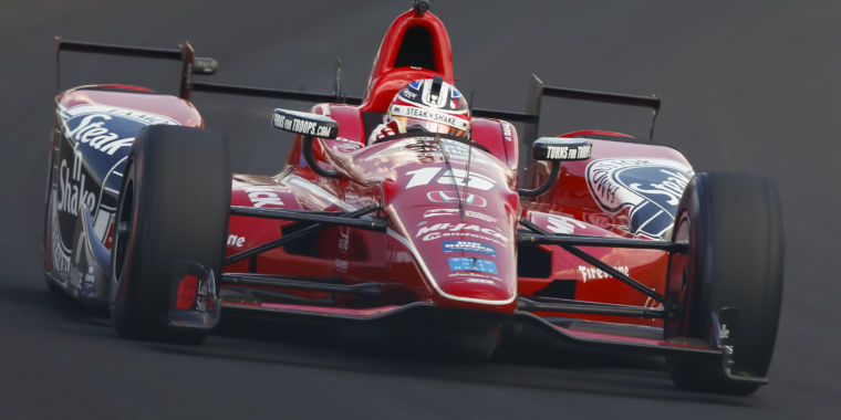Racer Graham Rahal tells us about his Indy 500 preparations