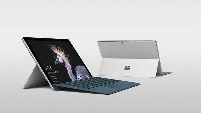 The new Surface Pro looks very similar to the Pro 4 and Pro 3.