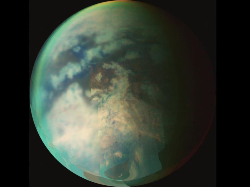 Home, sweet colony. Saturn's moon Titan.