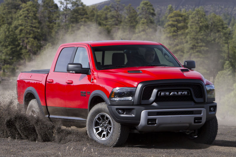 A 2015 Ram 1500, one of the models affected by this recall.