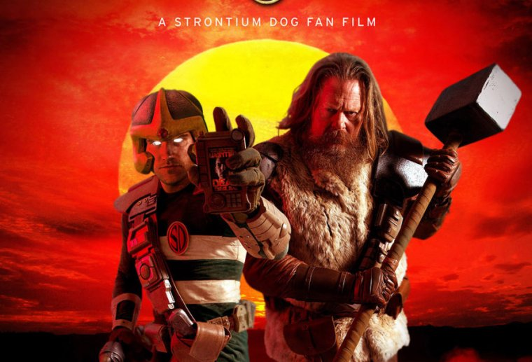 There's a Strontium Dog fan film, and it's very good