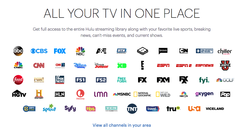 Hulu Debuts 40 Per Month Live Tv Streaming Service With Over 50