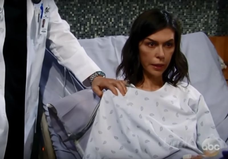 General Hospital's Anna Devane gets diagnosed with a rare form of blood cancer.