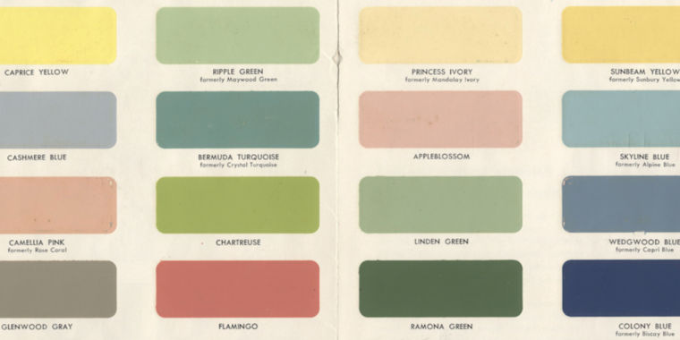 An AI invented a bunch of new paint colors that are hilariously wrong
