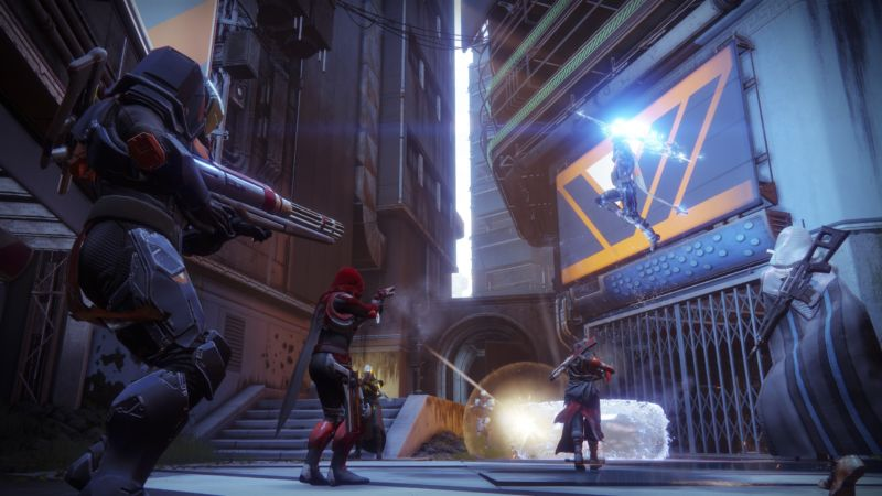 Destiny 2 moves to a more server-centric networking model