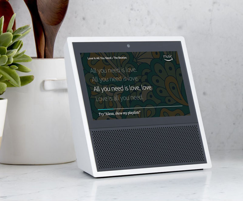 Amazon Echo Show Alexa Powered Touchscreen Speaker Launches June 28