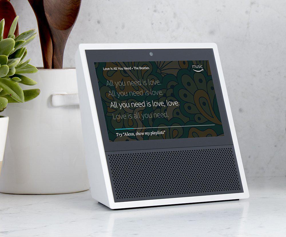 Amazon Echo Show Alexa Powered Touchscreen Speaker
