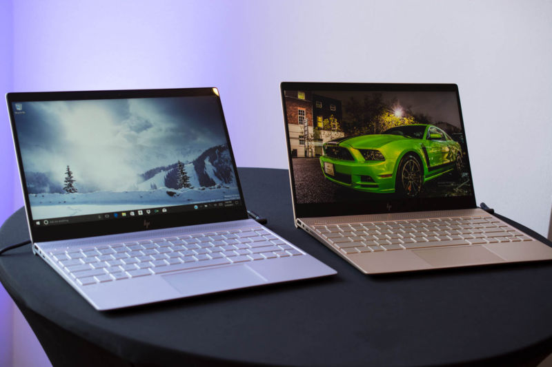 HP gives Envy laptops an edgier look, updates Spectre x2 with Kaby Lake CPUs