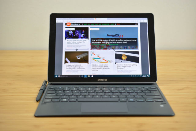 Samsung Galaxy Book review: A better TabPro S, but not a