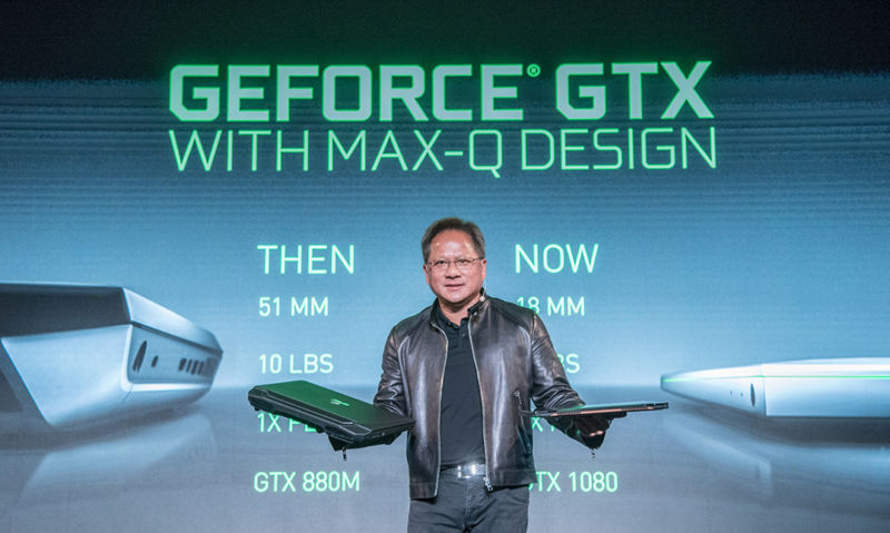 Nvidia Max-Q wants to make gaming laptops thinner, lighter, less fugly