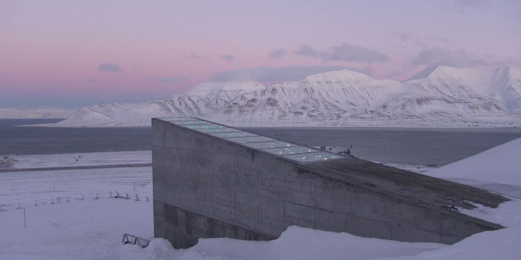 photo image The Arctic seed vault had to deal with melting permafrost last winter