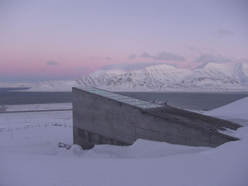 World's 'Doomsday' seed vault has been breached by climate change