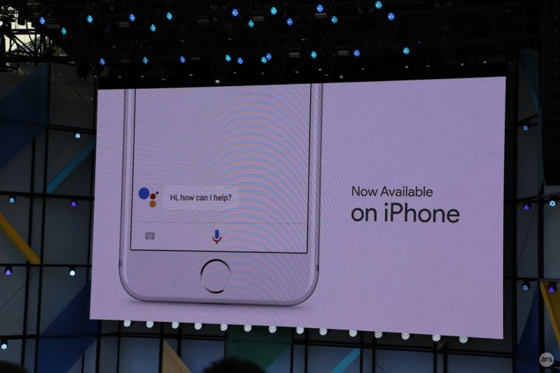 The Google Assistant comes to iOS