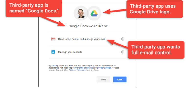 "Don't trust OAuth: Why the ""Google Docs"" worm was so convincing"
