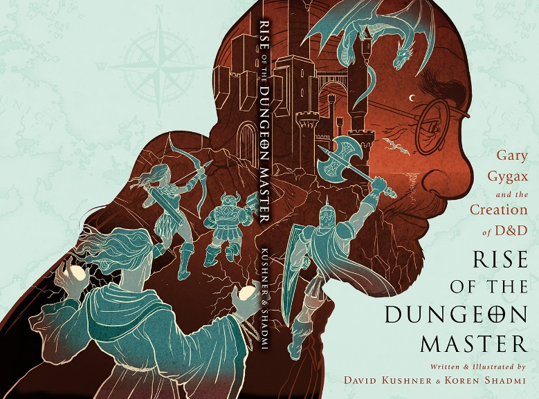 A fascinating graphic novel about the origins of Dungeons & Dragons