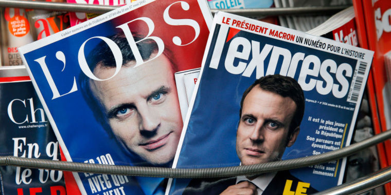 Evidence suggests Russia behind hack of French president-elect