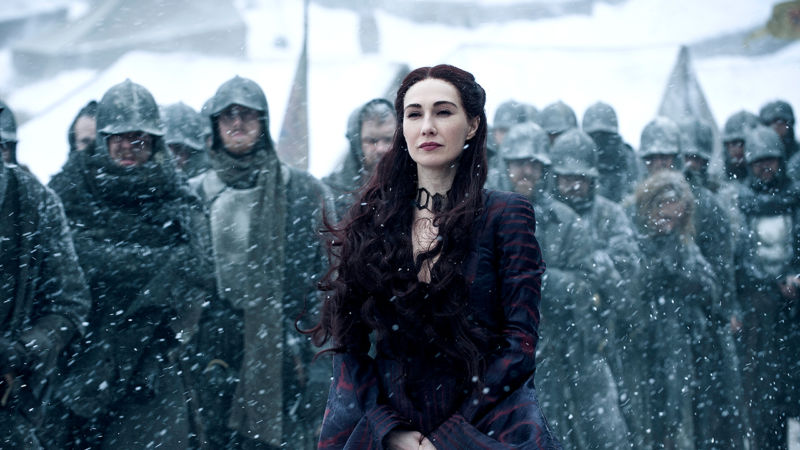 Just imagine how many 20-minute Game of Thrones episodes you could watch if you lived as long as Melisandre.
