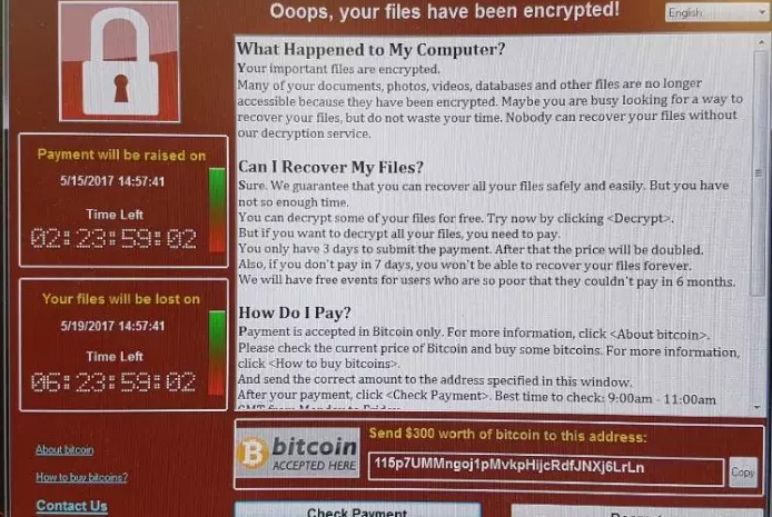 Massive ransomware attack hits UK hospitals, Spanish banks