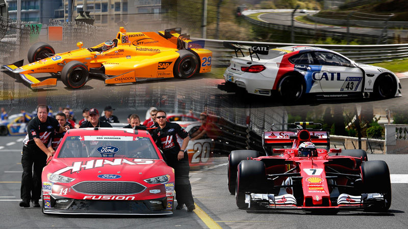 Memorial Day weekend means F1, the Indy 500, NASCAR, and the Nürburgring 24