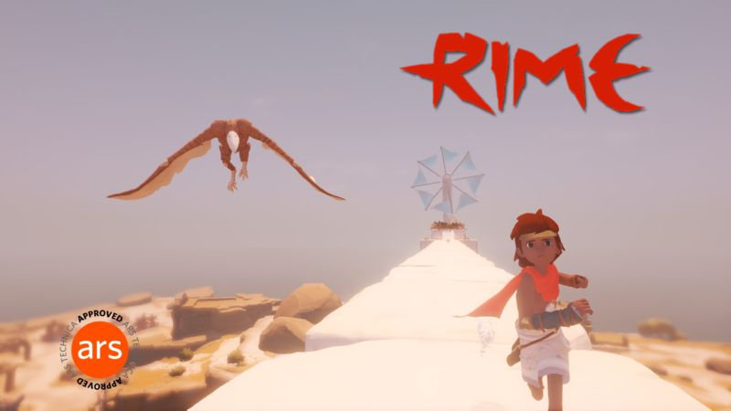 RiME is often a peaceful game, but it has a few harrowing moments.