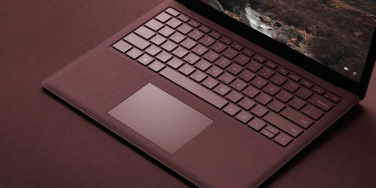 Hands-on with the Surface Laptop: Well, it's a laptop | Ars