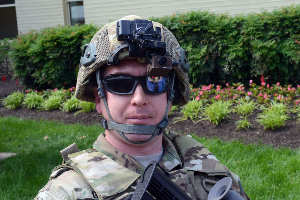 Heads up: Augmented reality prepares for the battlefield