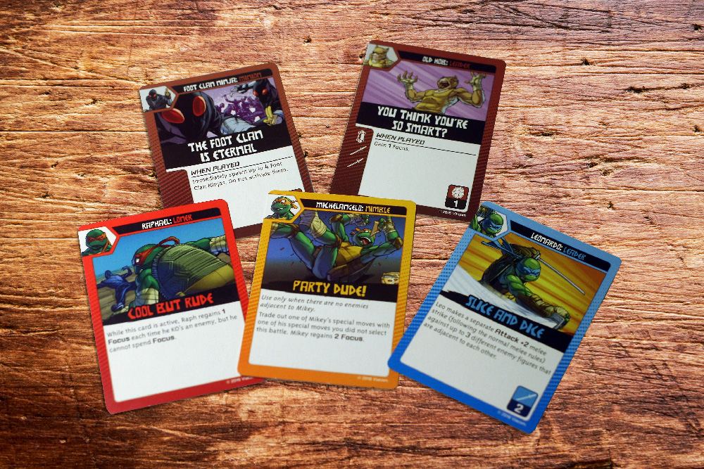 Special power cards.