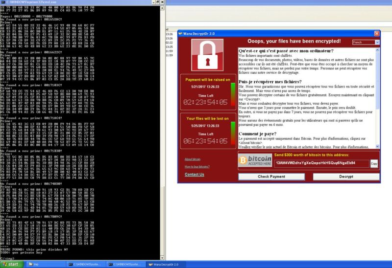 Windows XP PCs infected by WCry can be decrypted without paying ransom