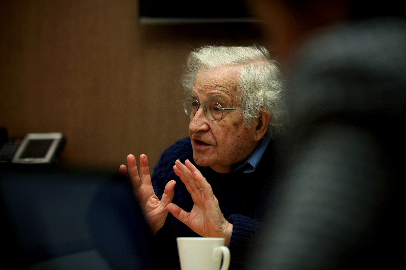 MIT professor Noam Chomsky, amazingly, has weighed into this very public dispute.