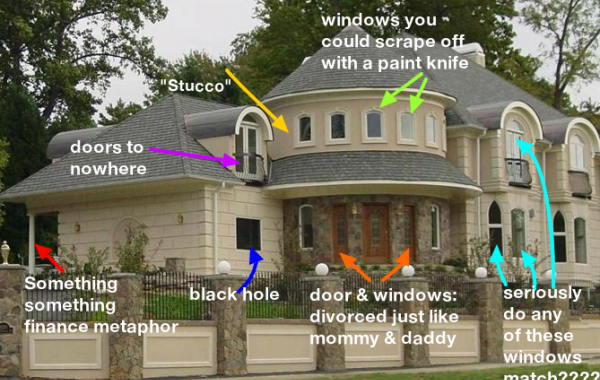Mcmansion hell used zillow photos to mock bad design for Zillow site