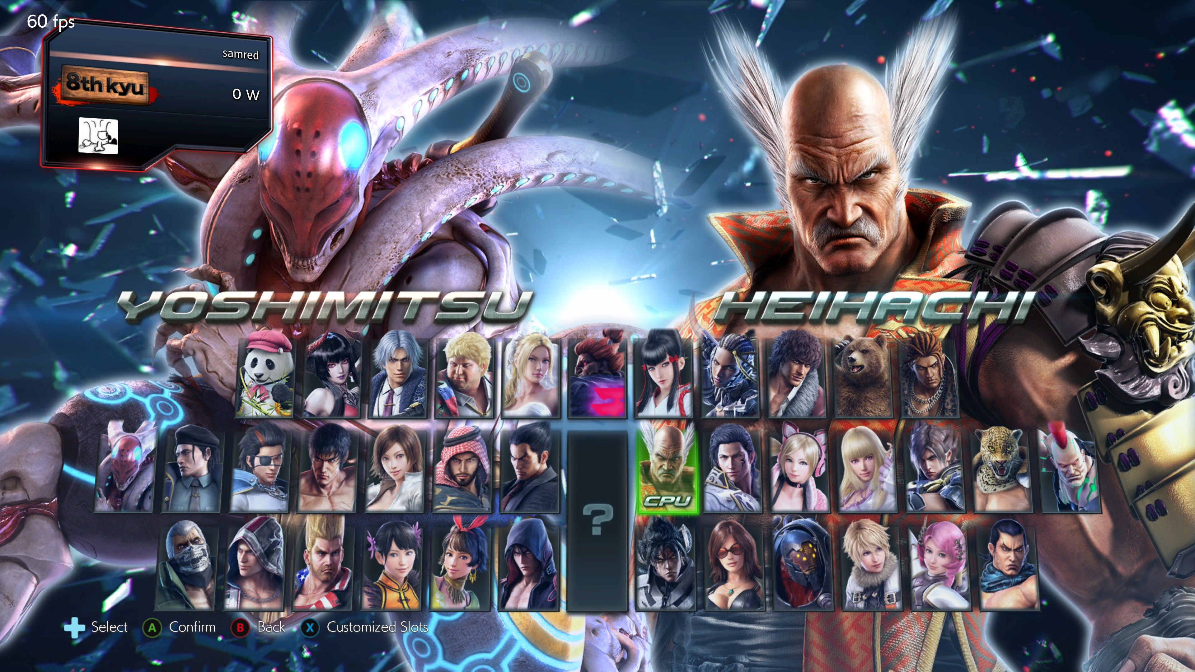 <em>Tekken 7</em>'s roster, including the day-one DLC character Eliza.